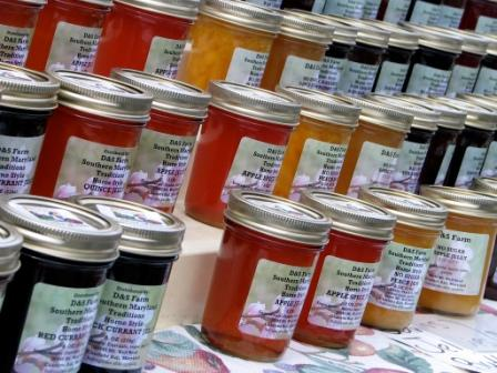 Jars of Jam - Photo from Flickr